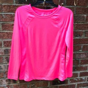 Size Medium - Danskin Now  L/Sleeve Active Shirt